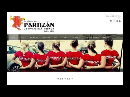 www.fspartizan.sk