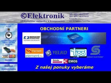 www.elektronik.sk