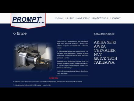 www.prompt-ke.sk