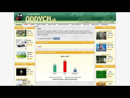 www.oddych.sk