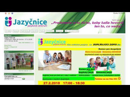 www.jazycnice.sk
