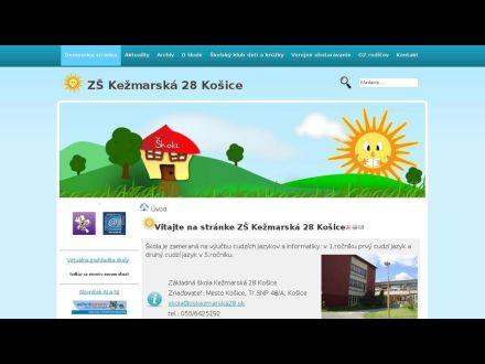 www.zskezmarska28.sk