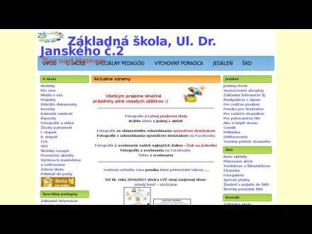 www.zsjanzh.edu.sk