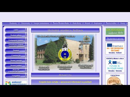 www.oarv.edu.sk