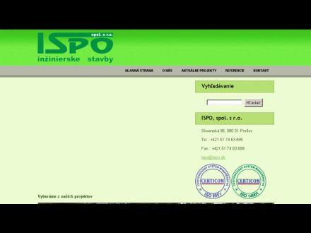 www.ispo.sk
