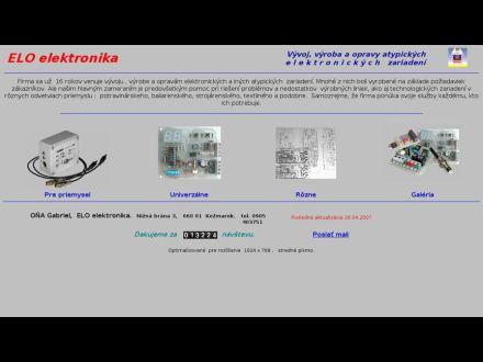 www.elo-elektronika.sk
