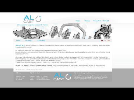 www.alcast.sk