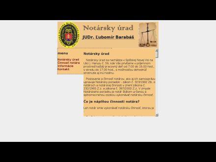 www.notar.sk/lubomir.barabas/index.htm