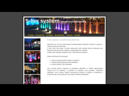 www.s-lux.sk