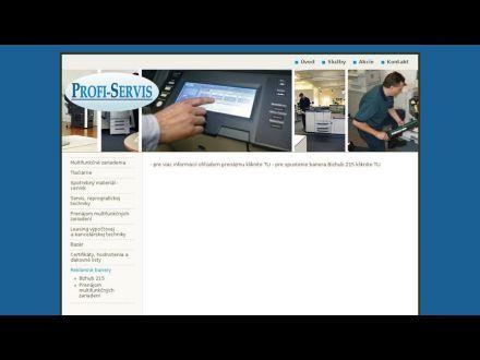 www.profiservis.sk