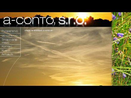 www.a-conto.sk