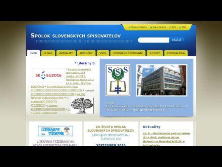 www.spolok-slovenskych-spisovatelov.webnode.sk