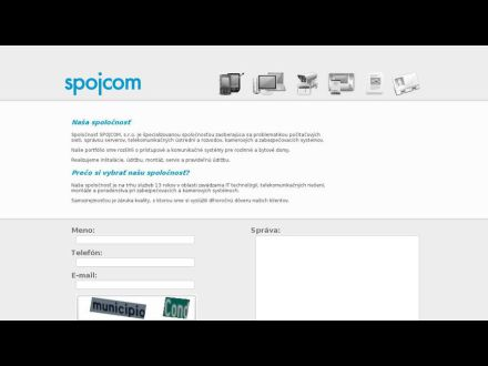www.spojcom.sk
