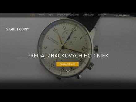 www.stare-hodiny.sk