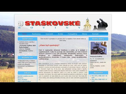 www.staskovskenoviny.sk