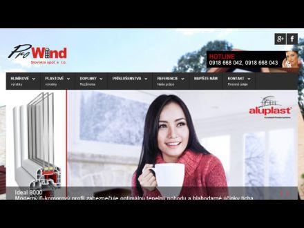 www.prowind.sk