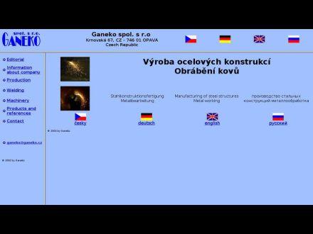 www.ganeko.cz