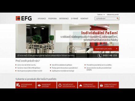 www.efg.cz