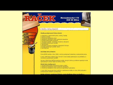 www.racek.sk