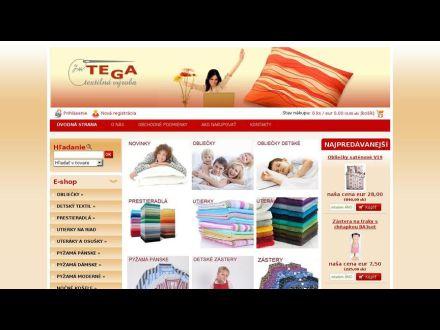 www.tegatextil.sk