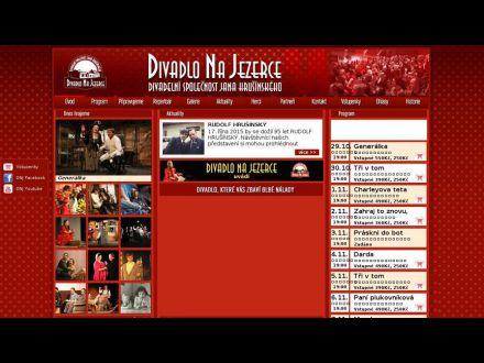 www.divadlonajezerce.cz