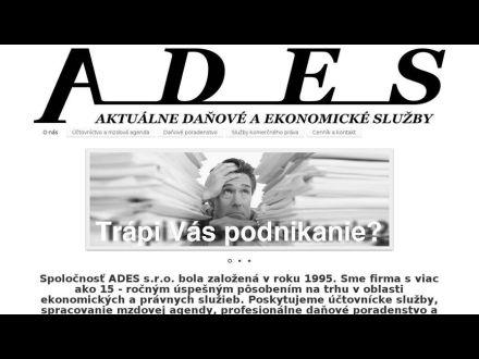 www.ades.sk