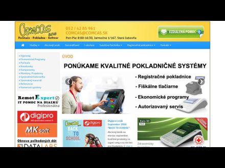 www.comcas.sk