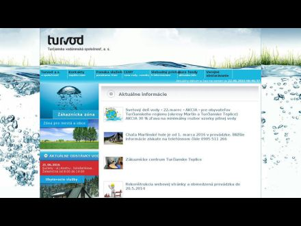 www.turvod.sk