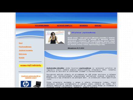 www.avspristroje-psychowalkmany.sk