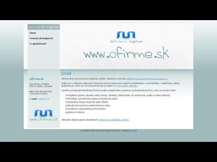www.umelonka.ofirme.sk