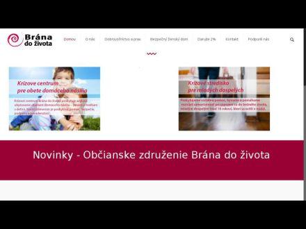 www.branadozivota.sk