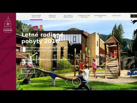 www.hotelchopok.sk