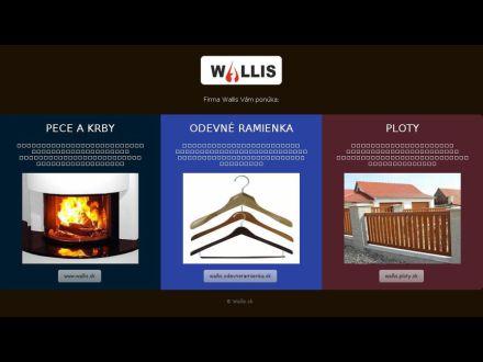 www.wallis.sk