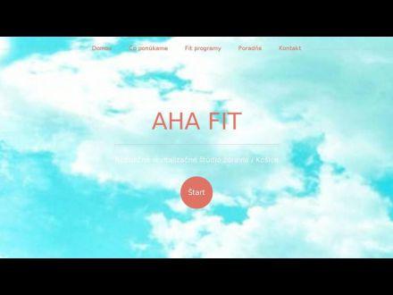 www.ahafit.sk