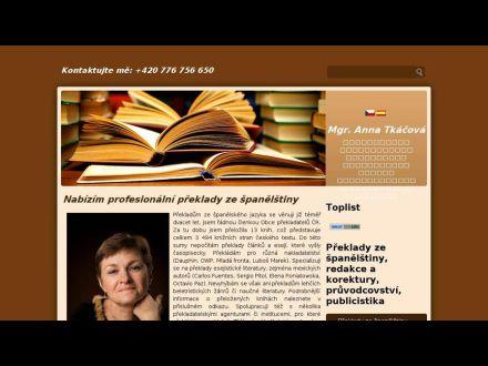 www.preklady-spanelstina-tkacova.cz