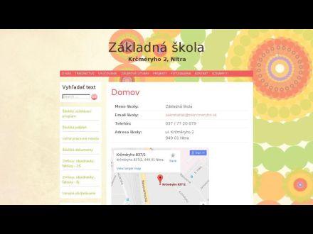 www.zskrcmeryho.sk