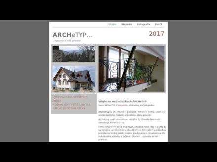 www.archetyp.sk