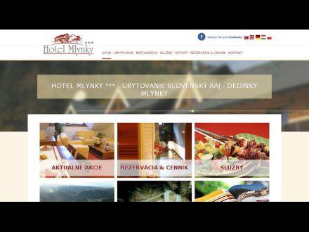 www.hotelmlynky.sk
