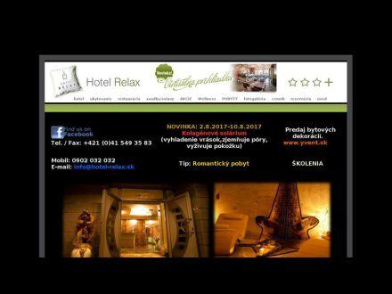 www.hotel-relax.sk
