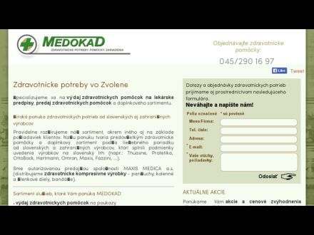 www.medokad.sk