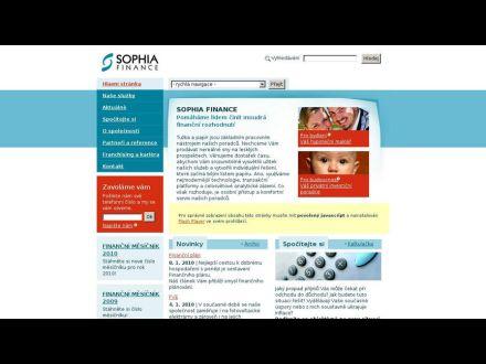 www.sophia.cz