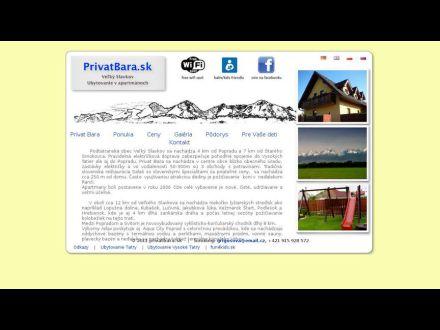 www.privatbara.sk