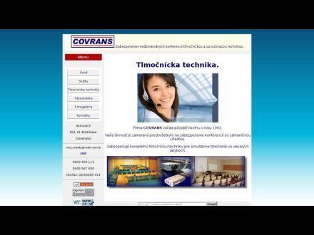 www.covrans.sk