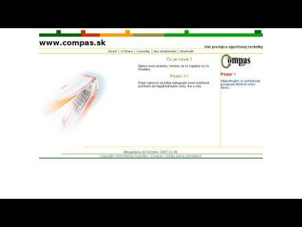 www.compas.sk