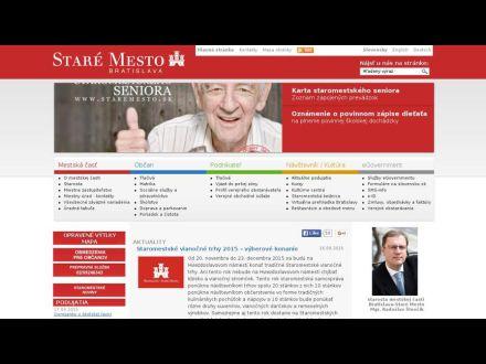 www.staremesto.sk