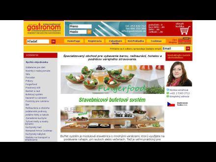 www.gastronom.sk