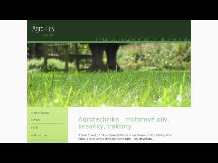 www.agroles.sk