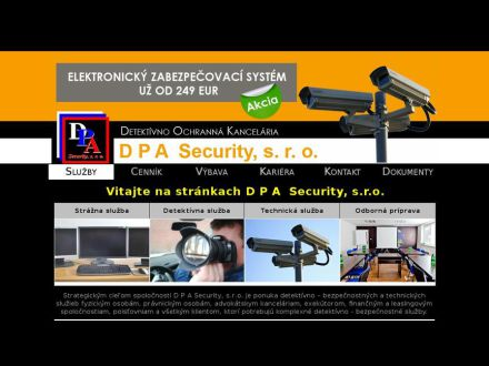 www.dpasecurity.sk