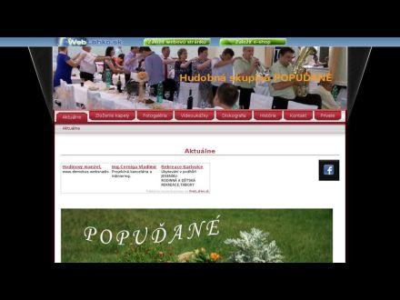 www.popudane.wbl.sk
