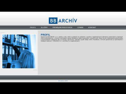 www.bbarchiv.sk